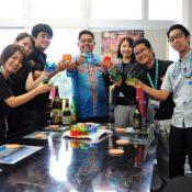 Yonabaru establishes Okinawa's first ordinance to toast with awamori