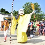 Traditional event Mushaama held to pray for Hateruma Island's prosperity