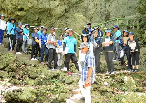 Peace education workshop for Nakagusuku Village K-12 faculty takes place at war site