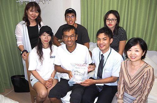 Taiwanese dialysis patient visiting Okinawa grounded by typhoon saved by Okinawan doctors who teamed up to rush him supplies