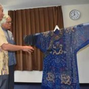 Clothing that was purchased at an antique shop in Fukuoka that could have been gifted to the Ryukyu Kingdom by China donated to the Churashima Foundation for restoration and research