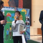 Okinawan sixth-grader places third in US film festival