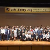 Okinawa hosts international pork research conference, presents efforts to increase brand recognition for Agu Pork