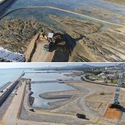 How far will costs rise? 147.1 billion yen already spent on mere 1% of Henoko land reclamation, prefectural government estimates total of 2.55 trillion