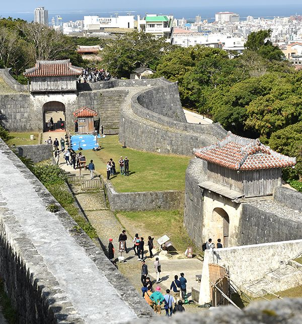 Shurijo Castle Park reopens majority of restricted area after fire