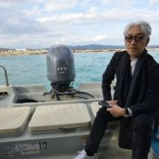 Ryuichi Sakamoto visits Henoko base construction site, says there is no justification for destroying nature to build base