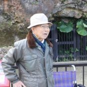 90-year old former student recalls history of Battle of Okinawa remains in Shuri Castle grounds