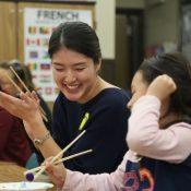 Spreading sanshin and Ryukyu language in the US