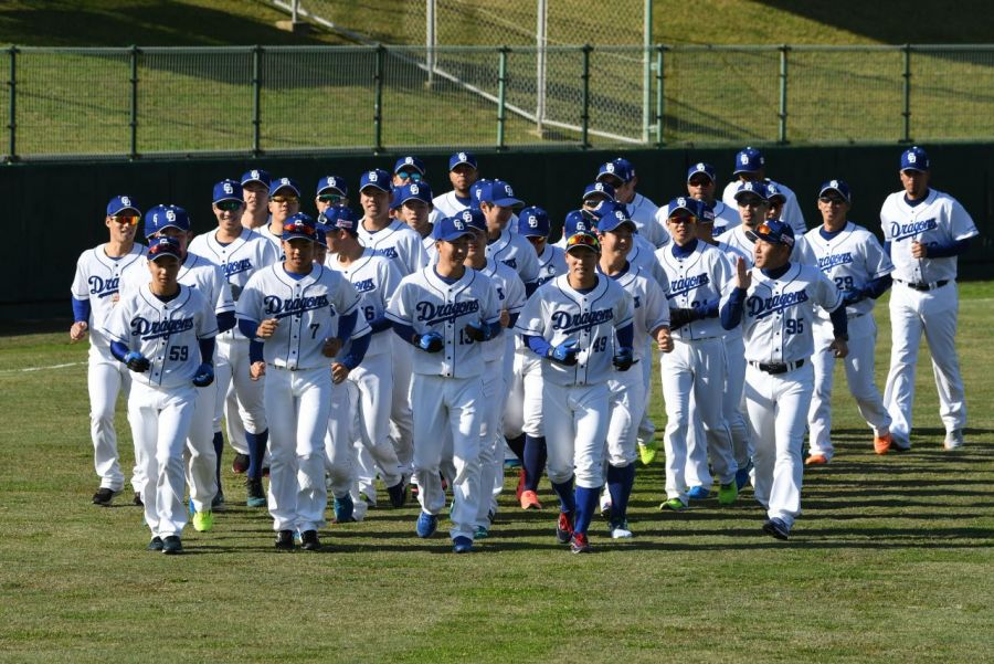 The campaign to become the best in Japanese pro baseball begins for eight teams in Okinawa