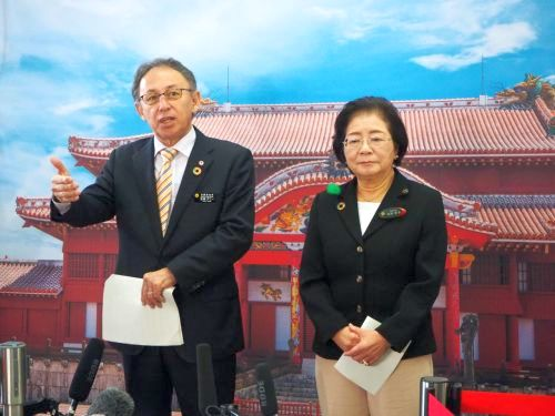 Okinawa and Japan to coordinate use of Shuri Castle reconstruction donation funds