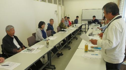 Former members of referendum association meet, plan to ask prefectural government to re-revoke land reclamation permit