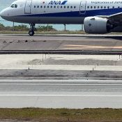 Third unexploded bomb found at Naha Airport construction site