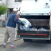 """""""It's scary. But, I wouldn't ask anyone to change places with me,"""" Trash collection specialists proud of their work"""