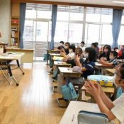 Schools reopen in Okinawa