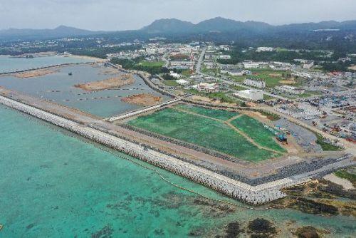 Cost of land reclamation in two zones in Henoko rise by 13.5 billion yen to 51.3 billon yen total
