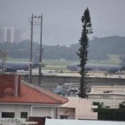 Loud noise and foul smells prevent residents near Kadena Air Base from opening windows to help prevent coronavirus infection