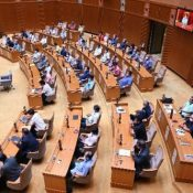 Okinawa prefectural assembly unanimously passes resolution demanding report on coronavirus cases in U.S. military bases on the island, Okinawa's governor's office also demands stronger prevention measures