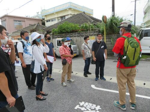 Promote Koza's charms: number of Okinawa City's tour guides reach 180