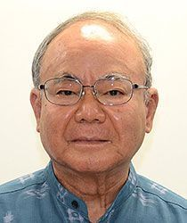 Hiroshi Miyata calculates 324 billion yen and 23,000 jobs worth of missed economic benefit from Okinawa Defense Bureau placing construction orders outside of the prefecture