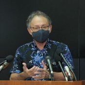 """""""I have no words,"""" says Governor Tamaki of revelation that barbecue was cause of PFOS leak from U.S. base"""