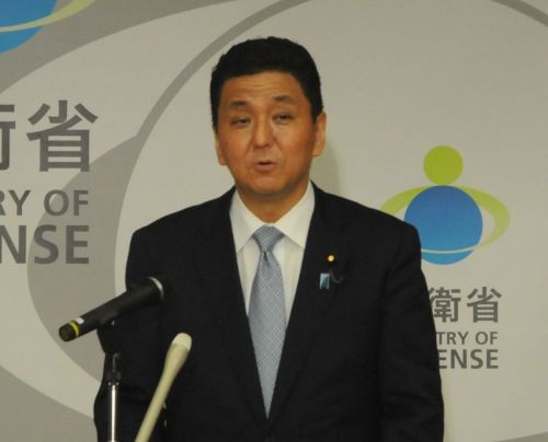 Defense Minister Kishi expresses intent to continue Abe administration's MCAS Futenma relocation policy
