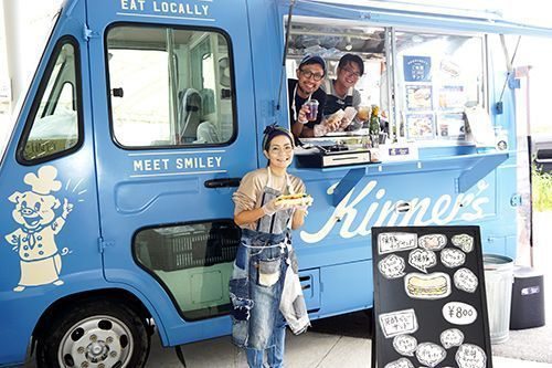 "After their farm was ravaged by swine fever, Kinna Farm launches a food truck to aid their rebuilding process, featuring the ""Gochiso-sando,"" made with local ingredients"