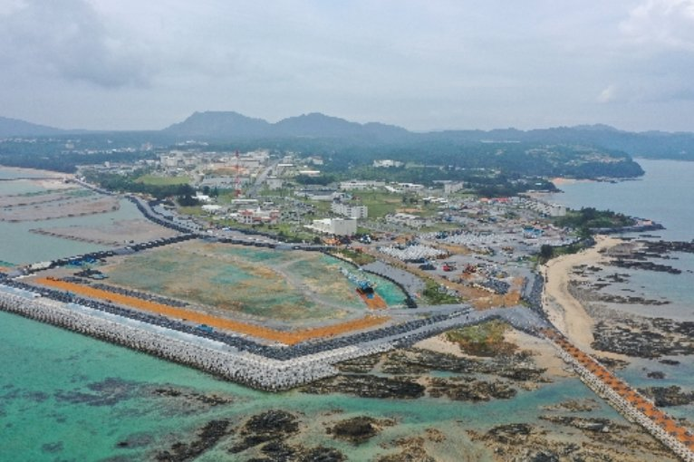 Association of War-Bereaved Families protests soil collection plan for construction in Henoko