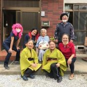 "Social workers celebrate two centenarians in Ogimi: ""I'm glad I lived to see this!"""