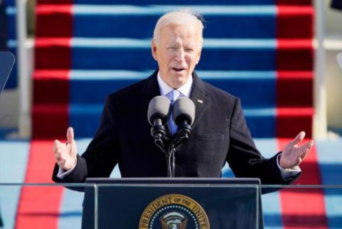 President Joe Biden's inauguration speech