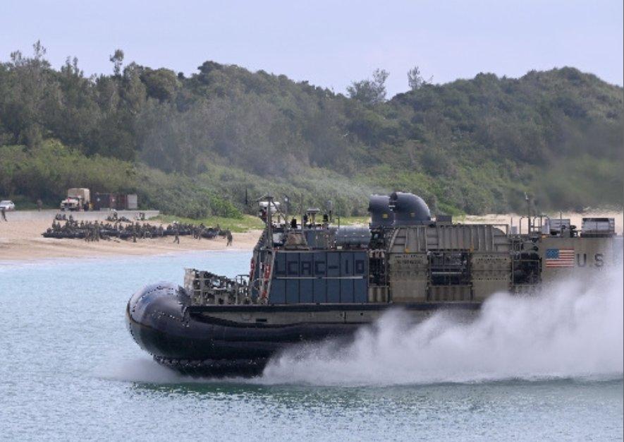 Joint USMC-GSDF training conducted on Blue Beach despite concerns about coronavirus spread