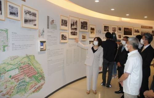 """Himeyuri Peace Museum reopens after renovation, """"to show that our grandparents' generation was not just one that experienced war"""""""
