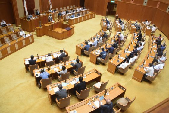 Prefectural assembly asks that soil containing war dead remains not be used in land reclamation