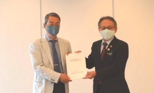 Bankoku Shinryo Conference proposes bringing attention to reducing base burden on Okinawa