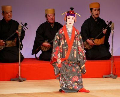 Important Intangible Cultural Property certification holders and Living National Treasures perform together for a brighter future