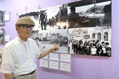 """Katsu Moriguchi holds photography exhibit on Okinawa under U.S. rule in Ginza: """"I thought it would become a peaceful island, but..."""""""