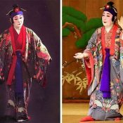 Yukiko Miyagi and Fusako Shida become the first living national treasures in Ryukyu Buyo