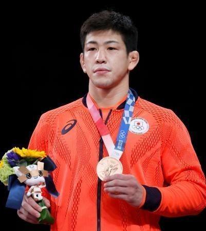 "Okinawa's Shohei Yabiku wins wrestling bronze ""for dad"""