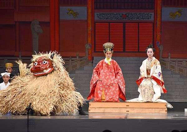 Haebaru High School Wins Grand Prize in Traditional Arts Category at the All-Japan High School Culture Festival