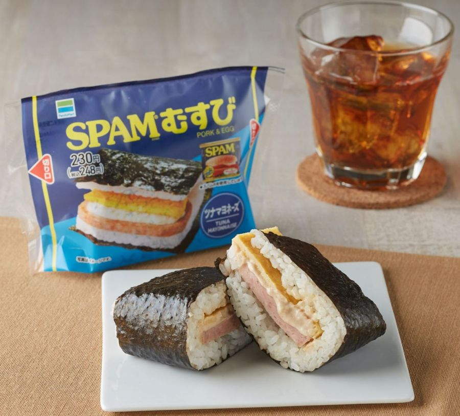 """""""SPAM Musubi,"""" originally from Okinawa, gains popularity throughout Japan, becomes best seller at Family Mart in August"""