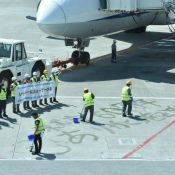 ANA celebrates 60 years of service to Okinawa at Naha Airport